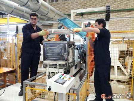 pakshooma16-450x338 پاکشوما از خط تولید ماشین ظرفشویی اتوماتیک در ایران رونمایی کرد