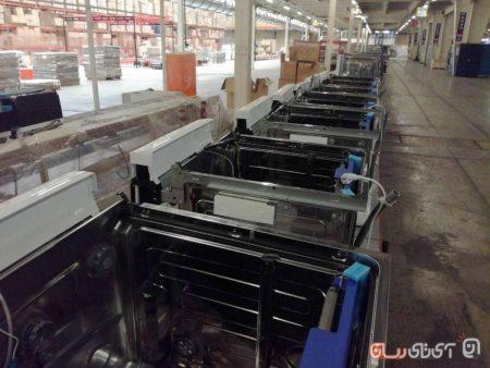 pakshooma43-450x338 پاکشوما از خط تولید ماشین ظرفشویی اتوماتیک در ایران رونمایی کرد