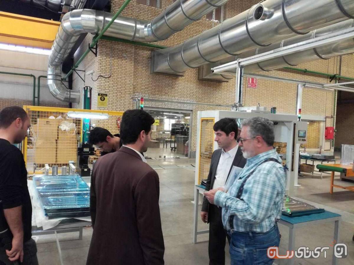 pakshooma5 پاکشوما از کارخانه تولید ماشین ظرفشویی اتوماتیک در ایران رونمایی کرد