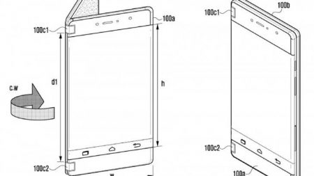 samsung-galaxyX-1-450x253 گوشی تاشوی سامسونگ اوایل ۲۰۱۹ با قیمتی ۲۰۰۰ دلاری عرضه میشود!