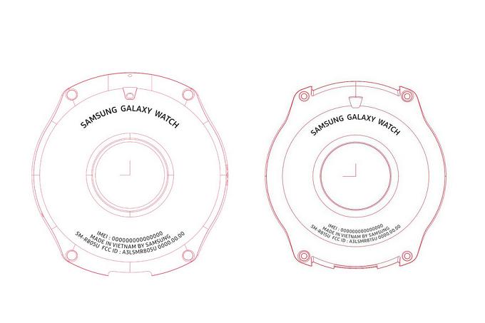 Galaxy-Watch سامسونگ گلکسی واچ با نمایشگر بزرگتر ۱.۳ اینچی تاییدیه FCC را دریافت کرده است