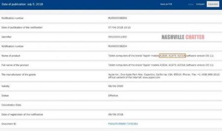 IPAD-PRO-2-450x265 گزارشها از دریافت گواهینامههای لازم برای پنج مدل جدید آیپد خبر میدهند