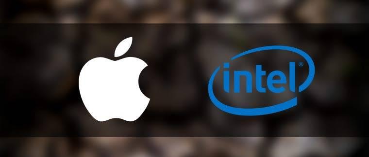 Intel اپل قید استفاده از تراشههای اینتل را زد!