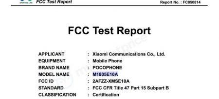 POCOPHONE-2-450x205 بنا به اسناد FCC، شیائومی با یک برند جدید وارد بازار گوشیهای هوشمند آمریکا خواهد شد