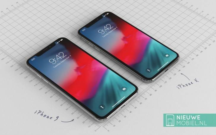 iPhone الجی سفارش تولید نمایشگر LCD برای آیفون 6.1 اینچی 2018 را دریافت کرد