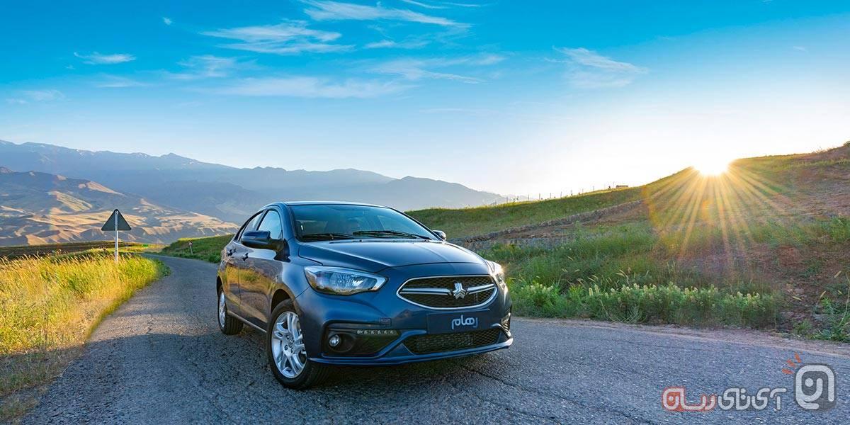 خودروی سایپا رهام با مشخصات کامل رونمایی شد + قیمت