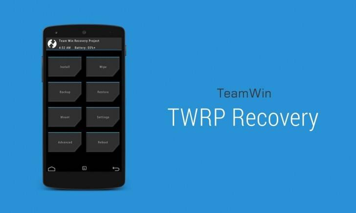 twrp کاستوم ریکاوری TWRP میزبان تعداد جدیدی هندست اندرویدی شد
