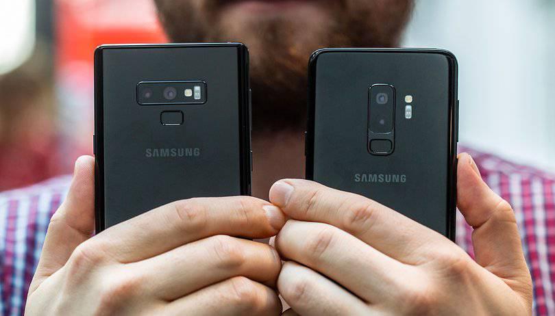 AndroidPIT-samsung-galaxy-note9-vs-s9-plus-back-w810h462 دلایل اختلاف قیمت 160 دلاری سامسونگ گلکسینوت 9 نسبت به گلکسی S9 پلاس