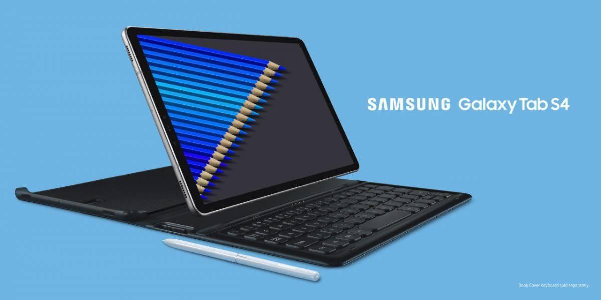 HHP-Samsung-Galaxy-Tab-S4-Pic-1 سامسونگ گلکسی تب S4 بهصورت رسمی معرفی شد