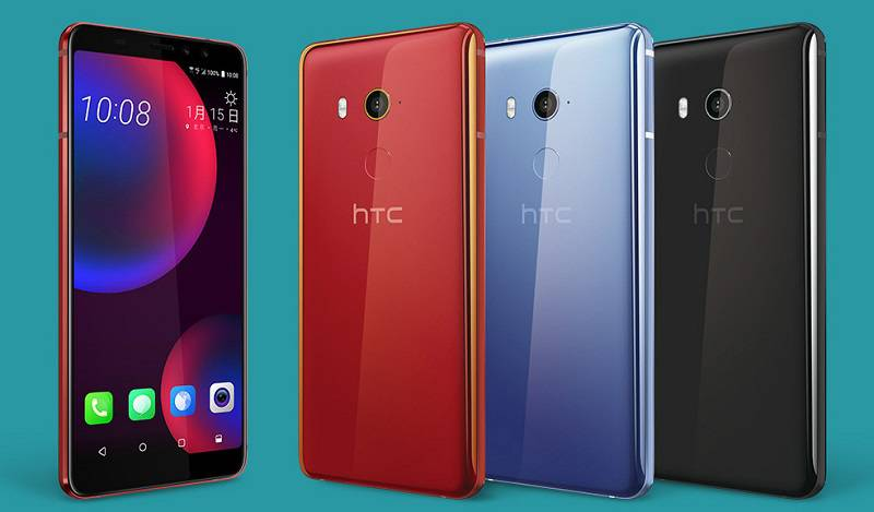 HTC-U11-EYEs-Color-Variants راهنمای خرید گوشی هوشمند با بودجه 4 تا 5 میلیون تومان (مهر ماه 97)