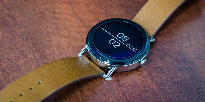 Skagen-Falster-Smartwatch-review بهترین ساعتهای هوشمند موجود در بازار (مرداد ماه ۹۷)