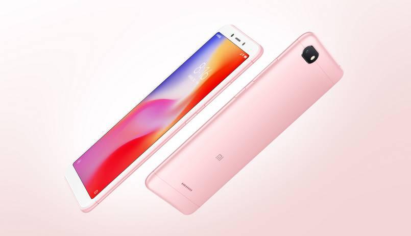 Xiaomi-Redmi-6A-Rose-gold برترین گوشیهای بازار در رده قیمتی 1 تا 1.5 میلیون تومان