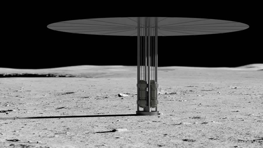 1-14 ناسا قصد دارد بر روی ماه راکتور هستهای بسازد!