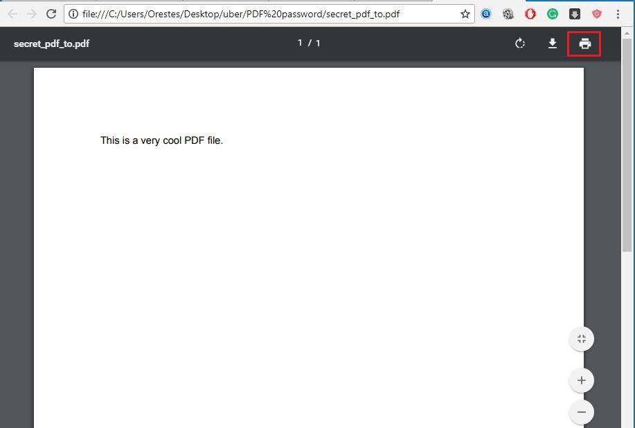3-3 با این آموزش بهسادگی رمز فایل PDF را حذف کنید