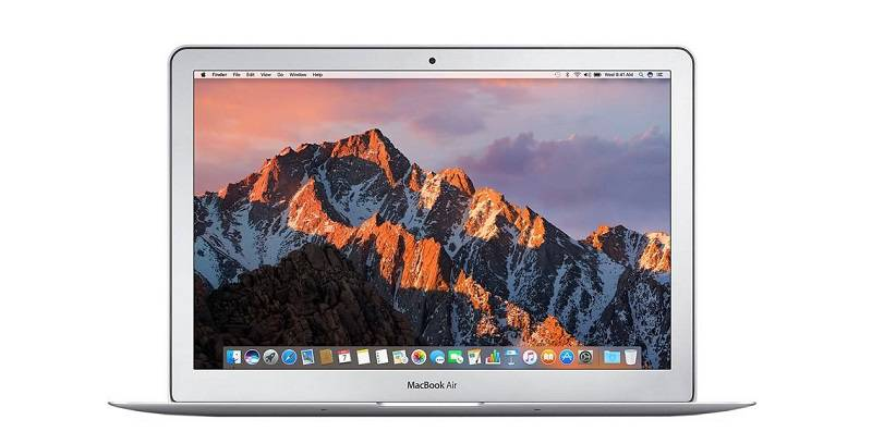 Apple-macbook-air-mqd32-2017- راهنمای خرید لپتاپ با بودجه 7 تا 10 میلیون تومان (شهریور ماه 97)
