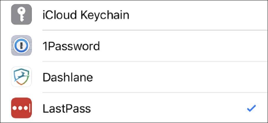 AutoFill-on-iPhone آموزش استفاده از نرمافزار مدیریت رمز عبور دلخواه در آیفون