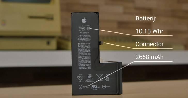 L-shaped-battery مقایسه پیکسل 3 ایکس ال و آیفون Xs مکس: سیب بزرگ در مقابل پیکسل اعظم!