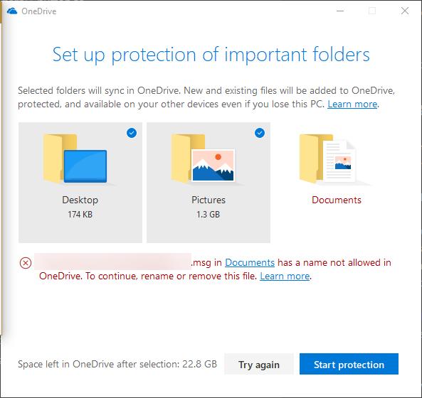 OneDrive-1-1 آموزش بکاپ گرفتن از فولدرهای ویندوز بهروی OneDrive
