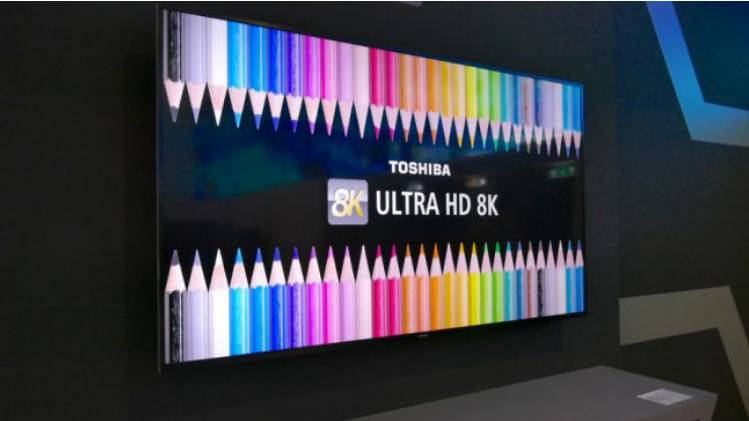 Toshiba-65-inch-8K-LED با بهترین تلویزیونهای 8K معرفی شده در نمایشگاه IFA 2018 آشنا شوید