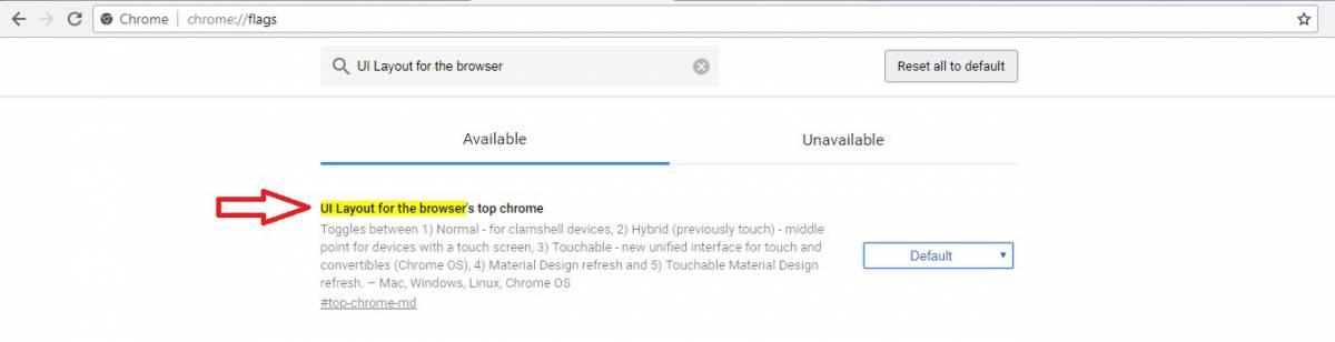 UI-Layout-for-the-browser با یک ترفند ساده، ظاهر قدیمی گوگل کروم را با قابلیتهای جدید آن تجربه کنید!