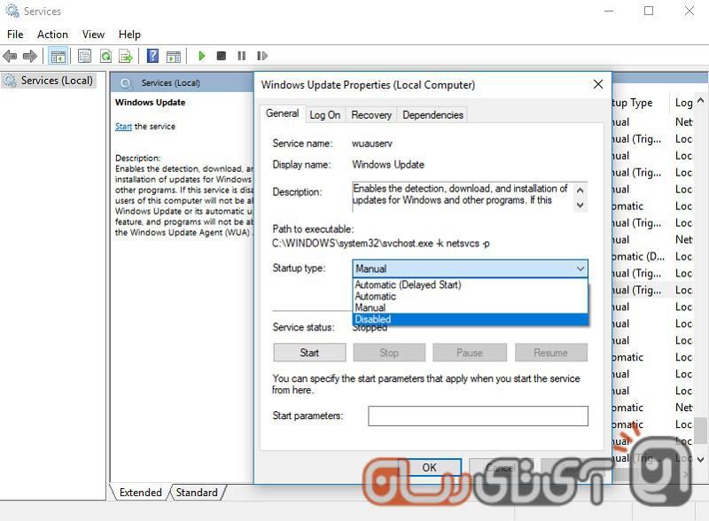 Windows-Update-3 آموزش بستن آپدیت ویندوز 10 با 3 روش جدید و متفاوت