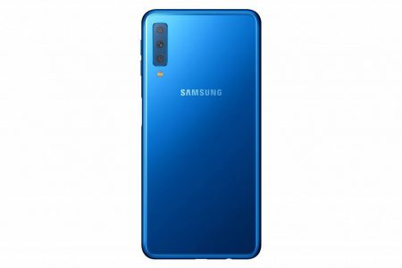 galaxy-A7-2018-3-450x300 گلکسی A7 2018 به عنوان اولین گوشی مجهز به دوربین سهگانه سامسونگ رسما معرفی شد
