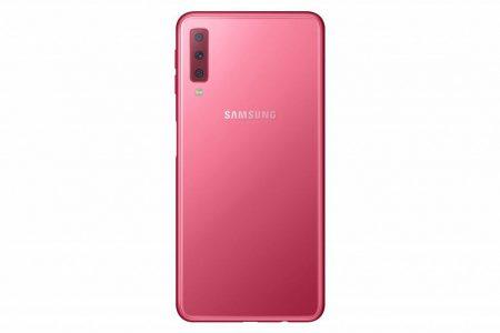 galaxy-A7-2018-7-450x300 گلکسی A7 2018 به عنوان اولین گوشی مجهز به دوربین سهگانه سامسونگ رسما معرفی شد
