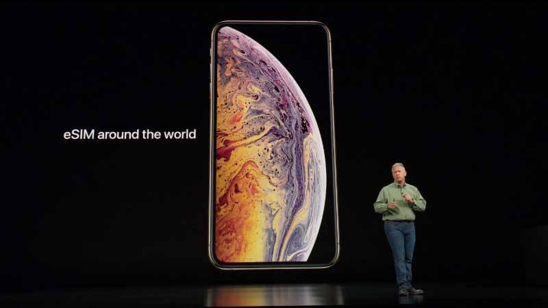iPhone_XS_XR_Dual_SIM_eSIM_1536836785339 آیفون Xs مجهز به سیمکارت eSIM اپل تنها در 10 کشور دنیا قابل استفاده است!