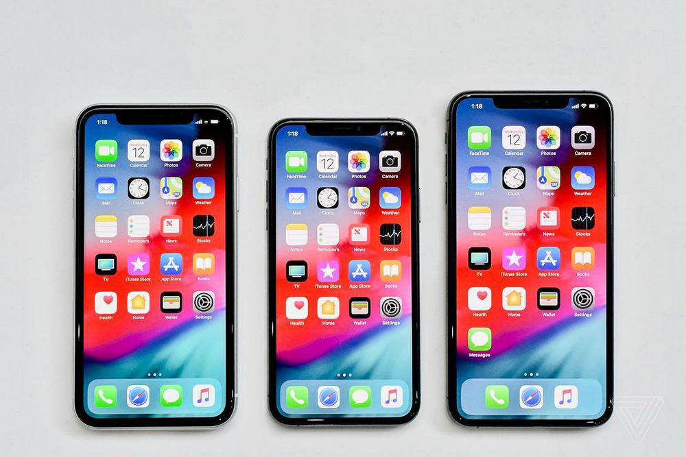 iphone-2018-1000x667 تفاوت آیفون Xr با آیفون Xs و آیفون Xs مکس اپل در چیست؟!