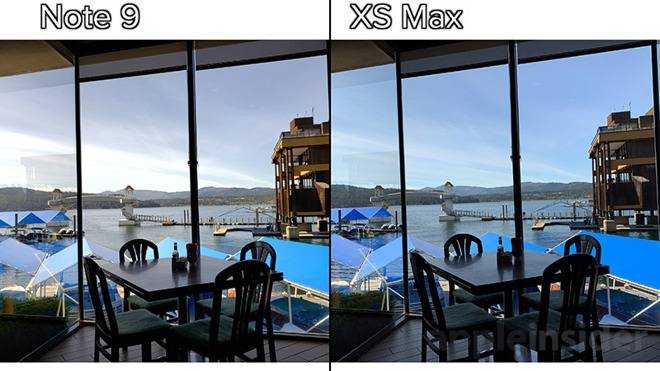 BC413501-FB51-42F9-B884-93C354C22A41 مقایسه دوربین آیفون XS مکس و گلکسی نوت 9 سامسونگ