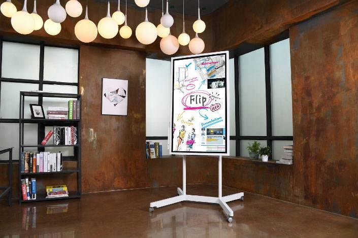 EBG-Flip-Display-Pic-3 نمایشگر Flip سامسونگ، دستیار هوشمند جلسههای اداری