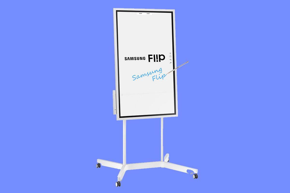 EBG-Flip-Display-Pic-6 نمایشگر Flip سامسونگ، دستیار هوشمند جلسههای اداری