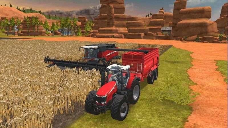 FarmingSimulator18_screenshot_01 بهترین بازیهای شبیه سازی اندروید را بشناسید