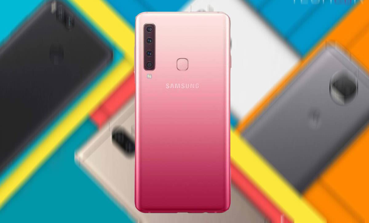 Galaxy-A9-Samsung مقایسه مشخصات گلکسی A9 2018 سامسونگ با بهترین میان ردههای بازار