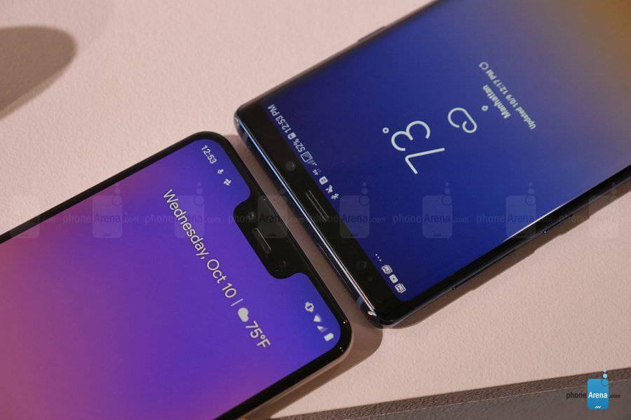 Google-Pixel-3-XL-vs-Samsung-Galaxy-Note-9-Copy مقایسه اولیه پیکسل 3 ایکس ال و گلکسی نوت 9؛ جویای نام و صاحبنام!