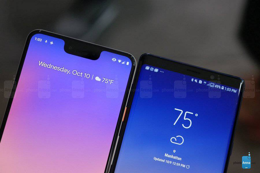 Google-Pixel-3-XL-vs-Samsung-Galaxy-Note-9-first-look-5-of-15-Copy مقایسه اولیه پیکسل 3 ایکس ال و گلکسی نوت 9؛ جویای نام و صاحبنام!