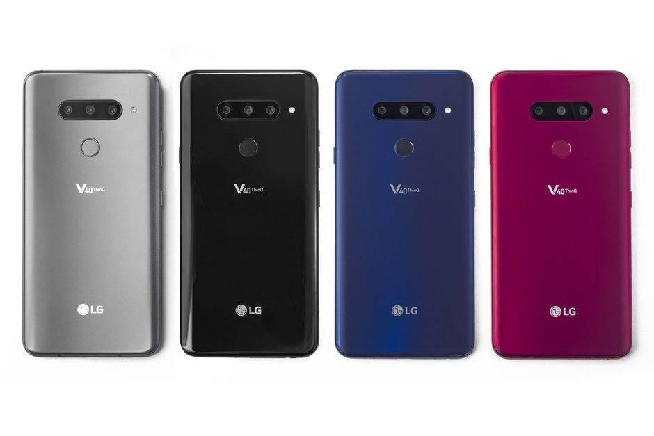 LG-V40-ThinQ-is-announced-with-f الجی V40 ThinQ با پنج دوربین رسما معرفی شد!