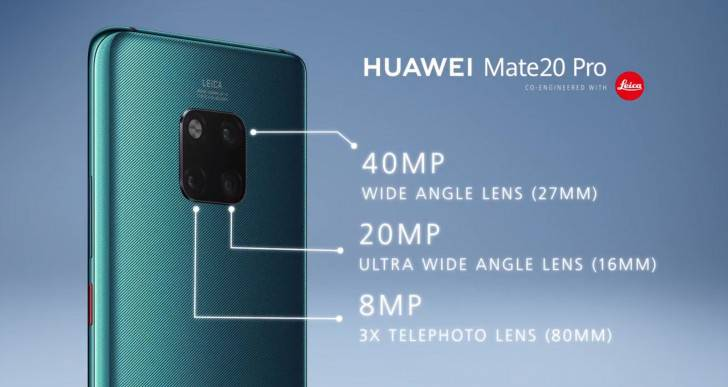 Mate-20-Camera هواوی میت 20 و میت 20 پرو با تراشه کایرین 980 و دوربین سهگانه معرفی شدند