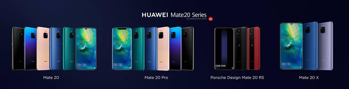 Mate-20-series هر آن چیزی که هواوی درباره سری جدید میت 20 میگوید!