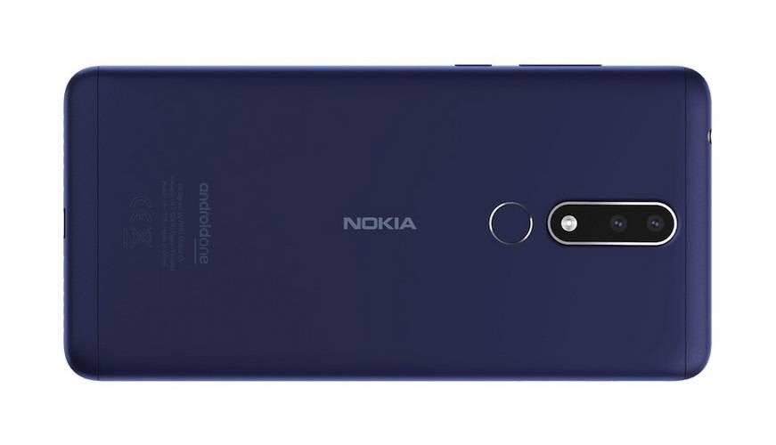 Nokia-3.1-Plus-back نوکیا 3.1 پلاس با نمایشگر 6 اینچی و دوربین دوگانه رسما معرفی شد
