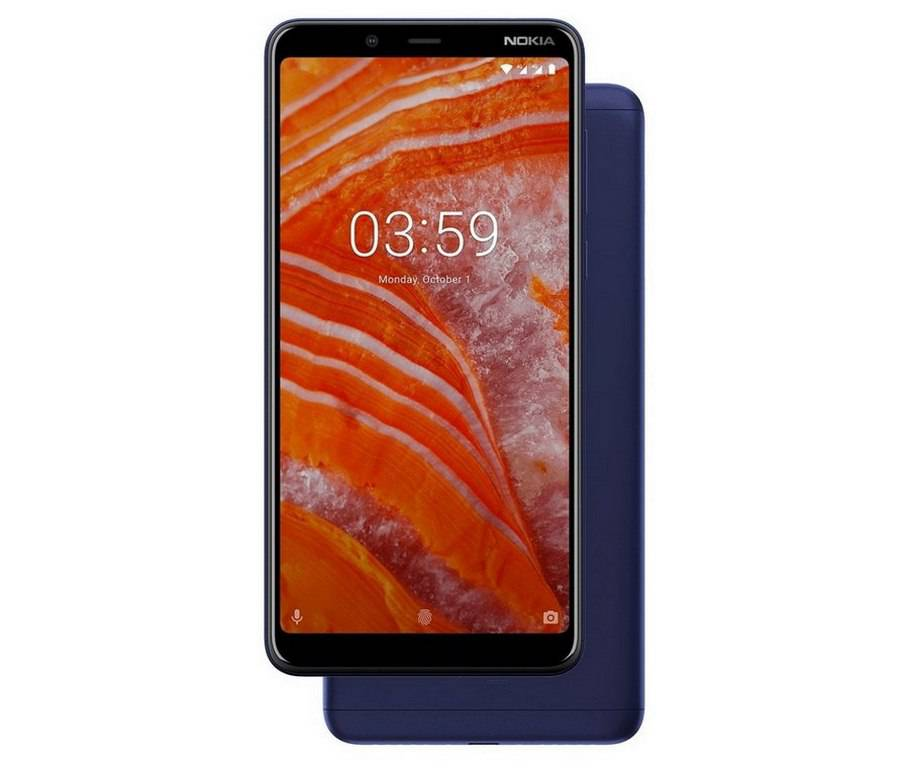 Nokia-3.1-Plus-blue نوکیا 3.1 پلاس با نمایشگر 6 اینچی و دوربین دوگانه رسما معرفی شد