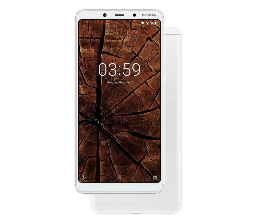 Nokia-3.1-Plus-white نوکیا 3.1 پلاس با نمایشگر 6 اینچی و دوربین دوگانه رسما معرفی شد
