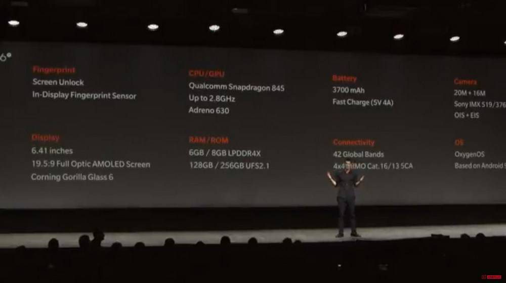 OnePlus-6T-2-1-1000x559 وانپلاس 6T در برابر سامسونگ گلکسی S9؛ کدامیک انتخاب بهتری است؟