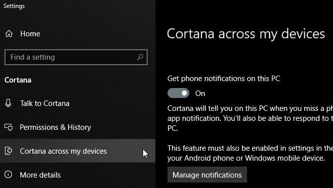 Phone-Notifications-in-Action-Center چگونه اطلاعات گوشی را به صورت بیسیم به کامپیوتر منتقل کنیم؟