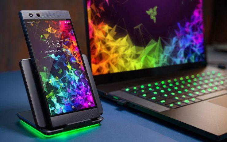Razer-Phone2-1 ریزر فون 2 به عنوان نسل دوم گوشیهای گیمینگ کمپانی ریزر رسما معرفی شد