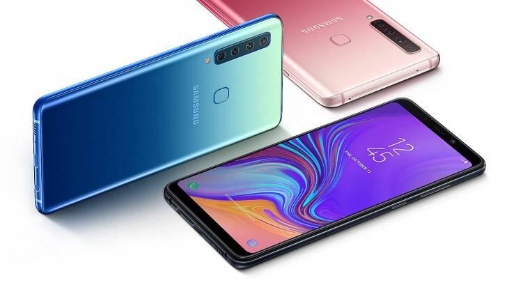 Samsung-Galaxy-A9-11 مقایسه مشخصات گلکسی A9 2018 سامسونگ با بهترین میان ردههای بازار