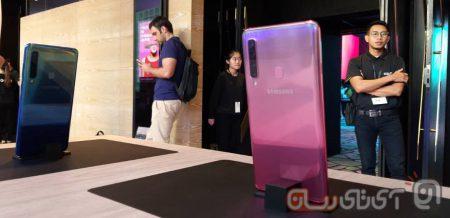 Samsung-Galaxy-A9-2018-Preview-Mojtaba-3-450x218 بررسی اولیه گلکسی A9 2018 سامسونگ: نخستین گوشی دنیا با دوربین چهارگانه!