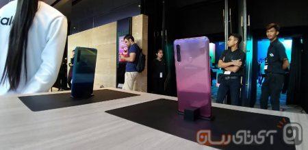 Samsung-Galaxy-A9-2018-Preview-Mojtaba-4-450x219 بررسی اولیه گلکسی A9 2018 سامسونگ: نخستین گوشی دنیا با دوربین چهارگانه!