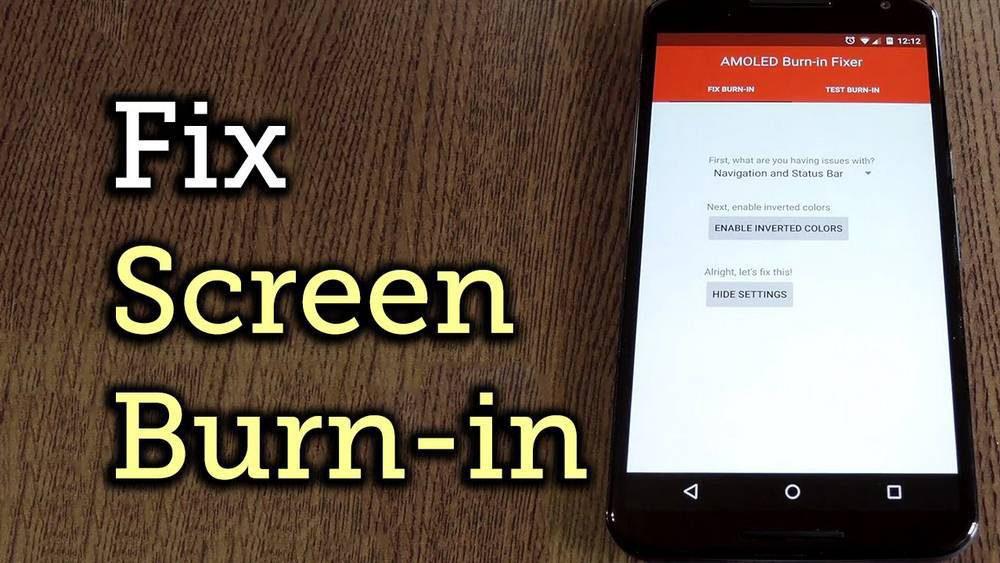 Screen-Burn-in-1000x563 چگونه مشکل سوختن صفحه نمایش یا پیکسلهای یک گوشی اندرویدی را برطرف کنیم؟!