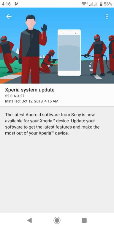 Sony-Xperia-XZ2-Update آپدیت اندروید 9 برای اکسپریا XZ2 سونی منتشر شد